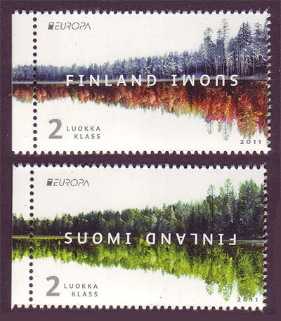 FI13791 Finland Scott # 1379 VF MNH, Forests - Europa 2011