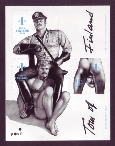 FI1467 Finland Scott #1467 MNH, Art by Tom of Finland - 2014