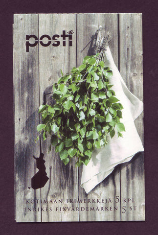 FI1540 Finland Scott # 1540 booklet MNH, Finnish Sauna Culture 2017