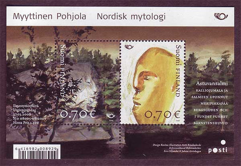 FI1311 Finland Scott # 1311 MNH, Nordic Myths 2008