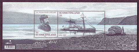 FI1321 Finland    Scott # 1321 MNH,              Nordenskiöld Expedition 2008