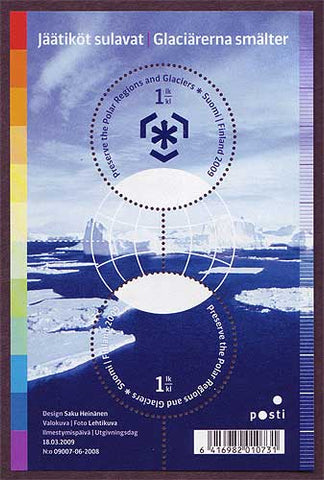 FI1334 Finland Scott # 1334 MNH, Global Warming 2009