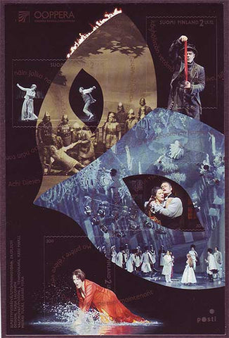 FI1371 Finland stamp # 1371 MNH, Finnish National Opera 2011