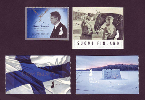 FI2017.1 Finland Single Stamps MNH from 2017