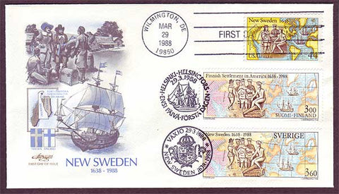 FI5026 Sweden First Day Cover  Joint Issue