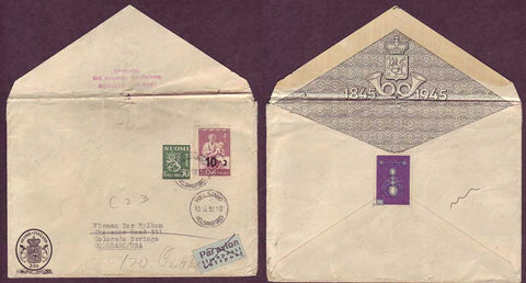 FI5040PH Finland Special Commemorative Envelope 1952