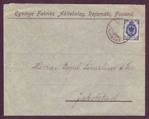 FI5054PH Finland Domestic business mail 1909