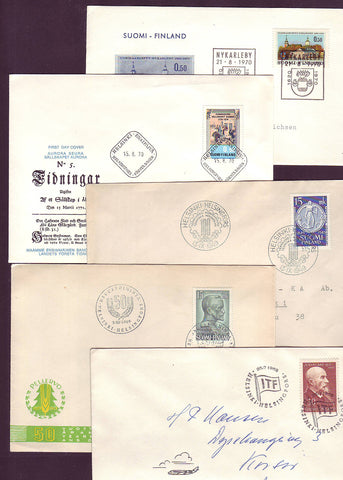 FI5099 Finland FIRST DAY COVER LOT #2