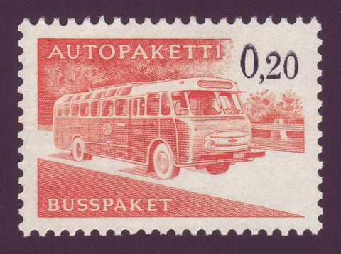 FIQ11 Finland Scott Q11 MNH, Parcel Post 1963