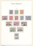 001 Definitive and Commemorative Stamps of Finland 1963 MNH.
