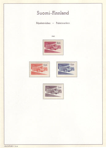 003 Definitive and Commemorative Stamps of Finland 1963 MNH.