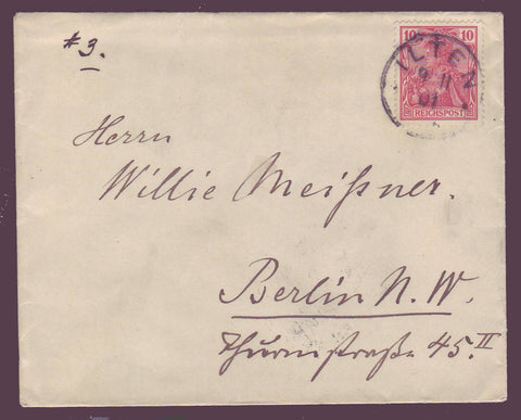 GE010 Germany  Letter 1901