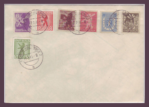 GE031 Germany, Berlin under Russian Occupation. Complete Set 1946