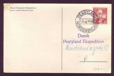 GR6013  Danish Pearyland (North Greenland) Expedition of 1948