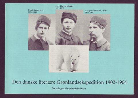 Danish ''Literary'' Expedition to Greenland 1902-04, Souvenir Sheet and Stamps - 1983