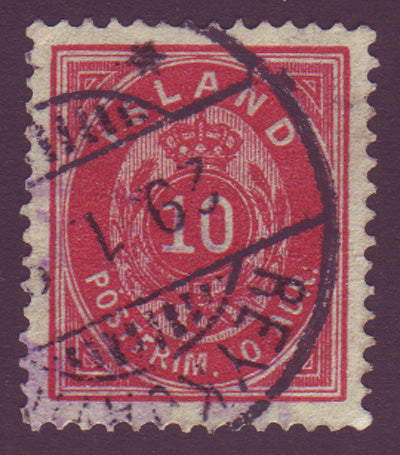IC0011.15 Iceland Scott # 11 VF Used