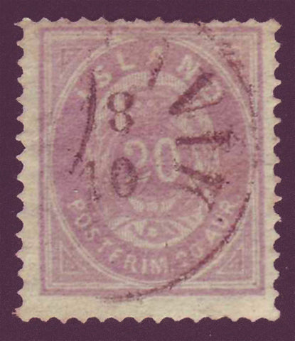 IC00135 Iceland Scott # 13 used  1876