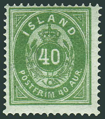 IC00142 Iceland Scott # 14 F MH