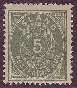 IC00162 Iceland Scott # 16 VF MLH
