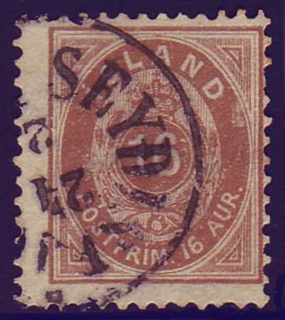 IC00275 Iceland Scott # 27 used