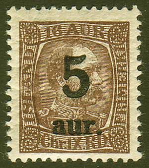 IC01301 Iceland Scott #  130 VF MH