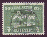 IC0154 Iceland Scott # 154 VF MNH, Parliamentary Issue 1930