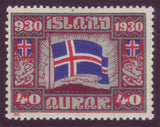 IC0161 Iceland Scott # 161 MNH. Parliamentary Issue 1930