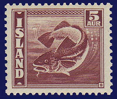 IC0219c1 Iceland Scott # 219c1 VF MNH**