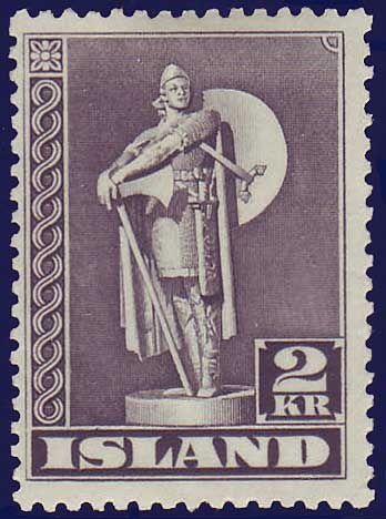 IC0229a2 Iceland Scott # 229a  MH