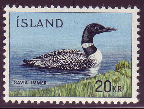 IC03881 Iceland Scott # 388 MNH, Common Loon 1967