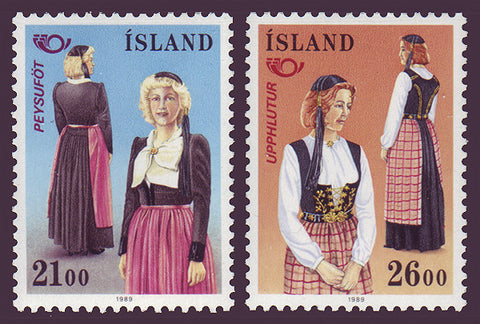 IC0673-741 Iceland Scott # 673-74 MNH Nordic Cooperation 1989