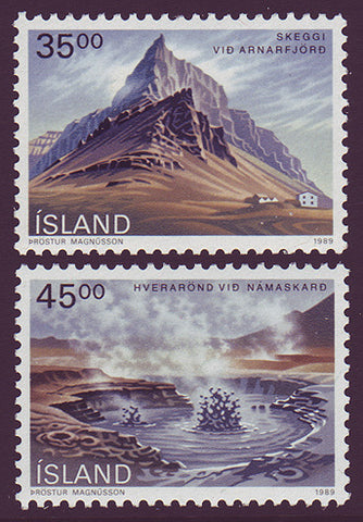 IC0678-791 Iceland Scott # 681a-c MNH