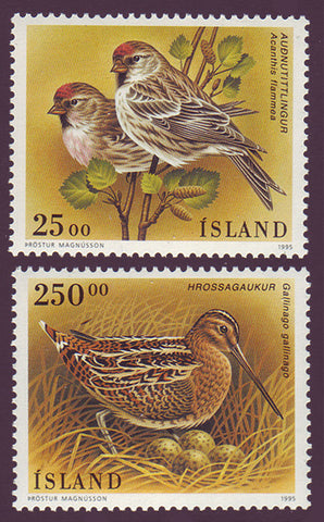 IC0808-091 Iceland Scott # 808-09 MNH, Birds 1995