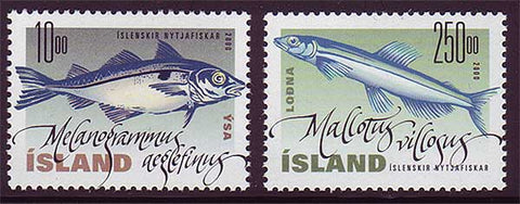 IC0915-161 Iceland Scott # 915-16 MNH, Fish 2000