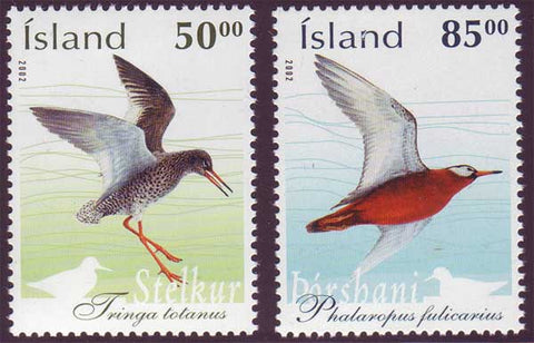IC0978-791 Iceland       Scott # 978-79 MNH,         Birds 2002