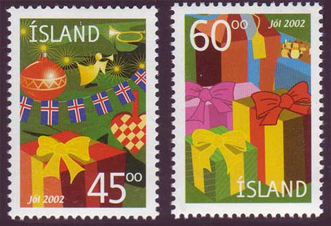 IC0980-811 Iceland       Scott # 980-81 MNH,       Christmas 2002