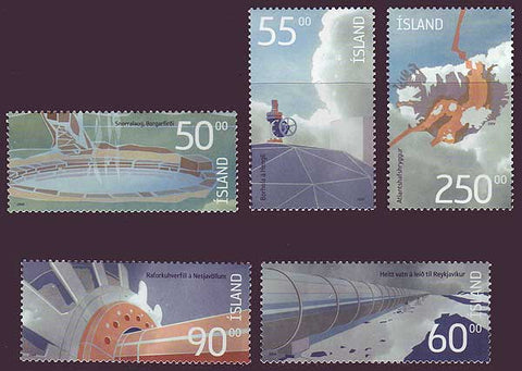 IC1009-131 Iceland       Scott # 1009-13 MNH, Geothermal Energy 2004