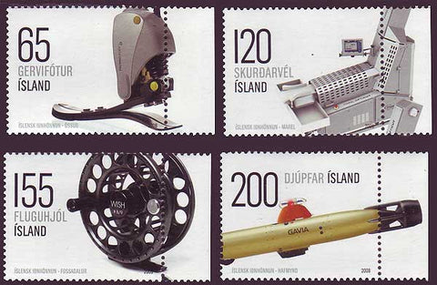 IC1141-441 Iceland       Scott # 1141-44 MNH, Industrial Design 2008