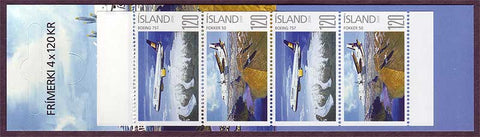 IC1164exp1 Iceland Scott # 1164a  booklet / carnet