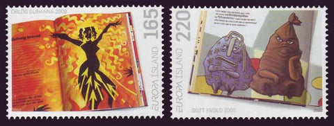 IC1196-971 Iceland Scott # 1189-91 MNH, Children's Books - Europa 2010