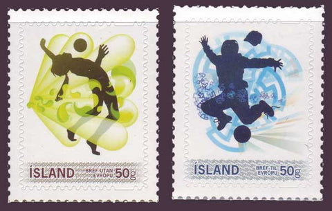 IC1203-041 Iceland Scott # 1203-04 MNH, Personalized Stamps 2010