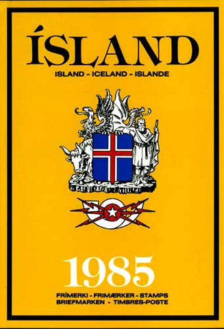 IC1985 Iceland 1985 Official Year Set