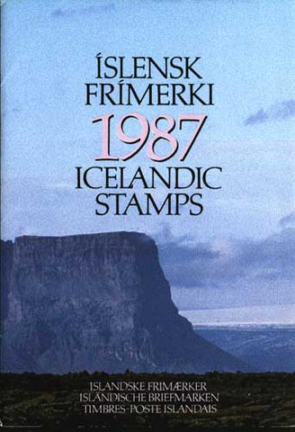 IC1987 Iceland 1987 Official Year Set