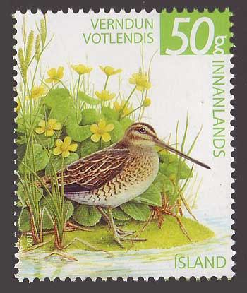 IC12421 Iceland Scott # 1242 MNH, Wetlands Conservation 2011