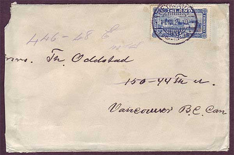 IC5030PH Iceland Cover to Canada 1927
