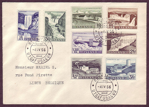 IC5066PH Iceland  First Day Cover to Belgium