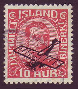 ICC15 Iceland Scott # C1 VF Used