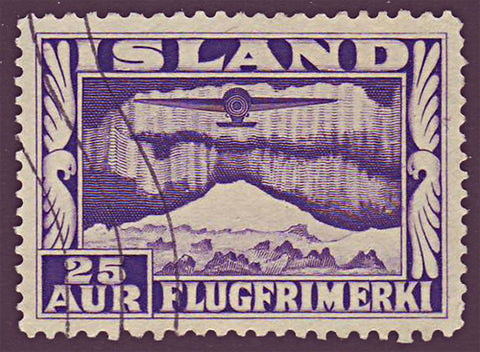 ICC17a5 Iceland Scott # C17a VF Used