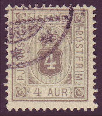 ICO115 Iceland Scott # O11 VF used
