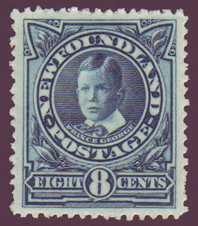 NF1102 Newfoundland # 110 VF MH, Prince George 1911